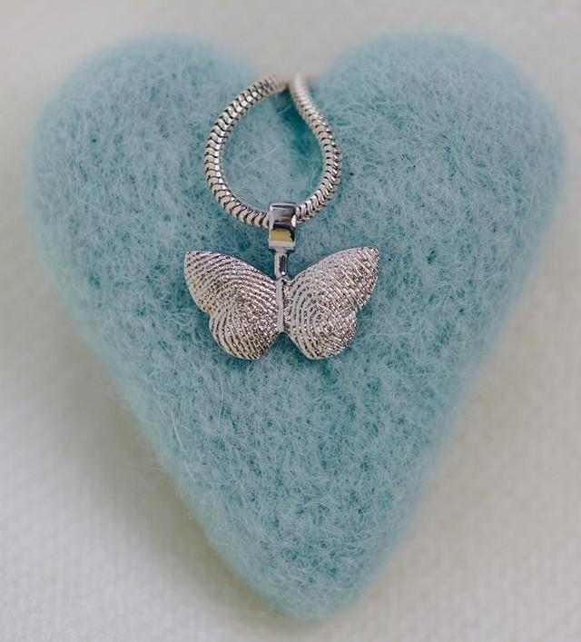 motyl - Twój dotyk utrwalony wbiżuterii