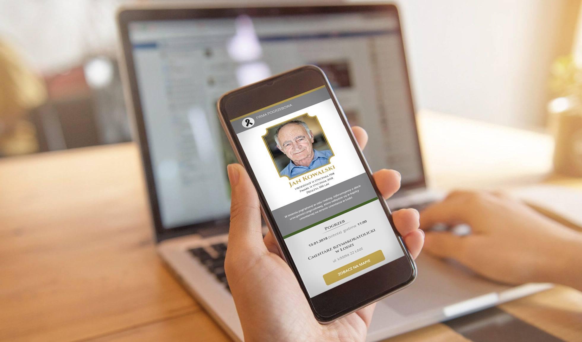 eklepsydra - Poznaj elektroniczne powiadomienia pogrzebowe